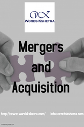 Merger and acquisition services,  Joint venture services